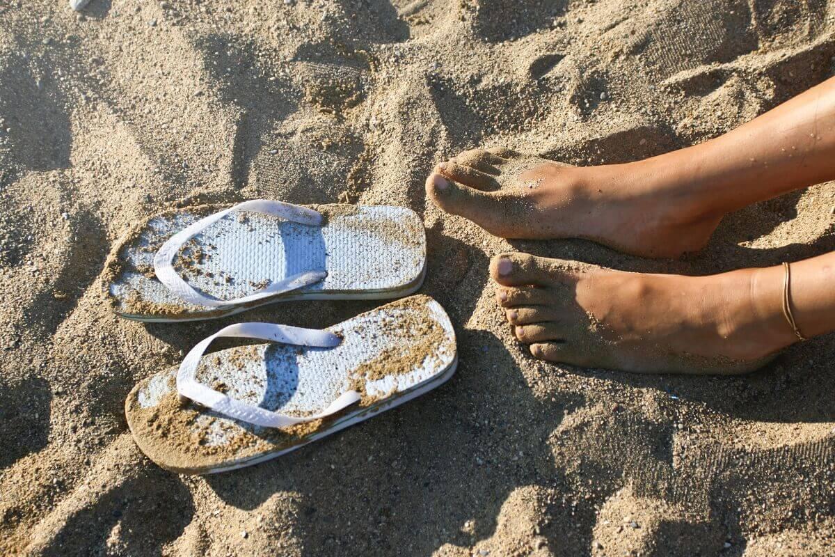 Šľapky na pláž
