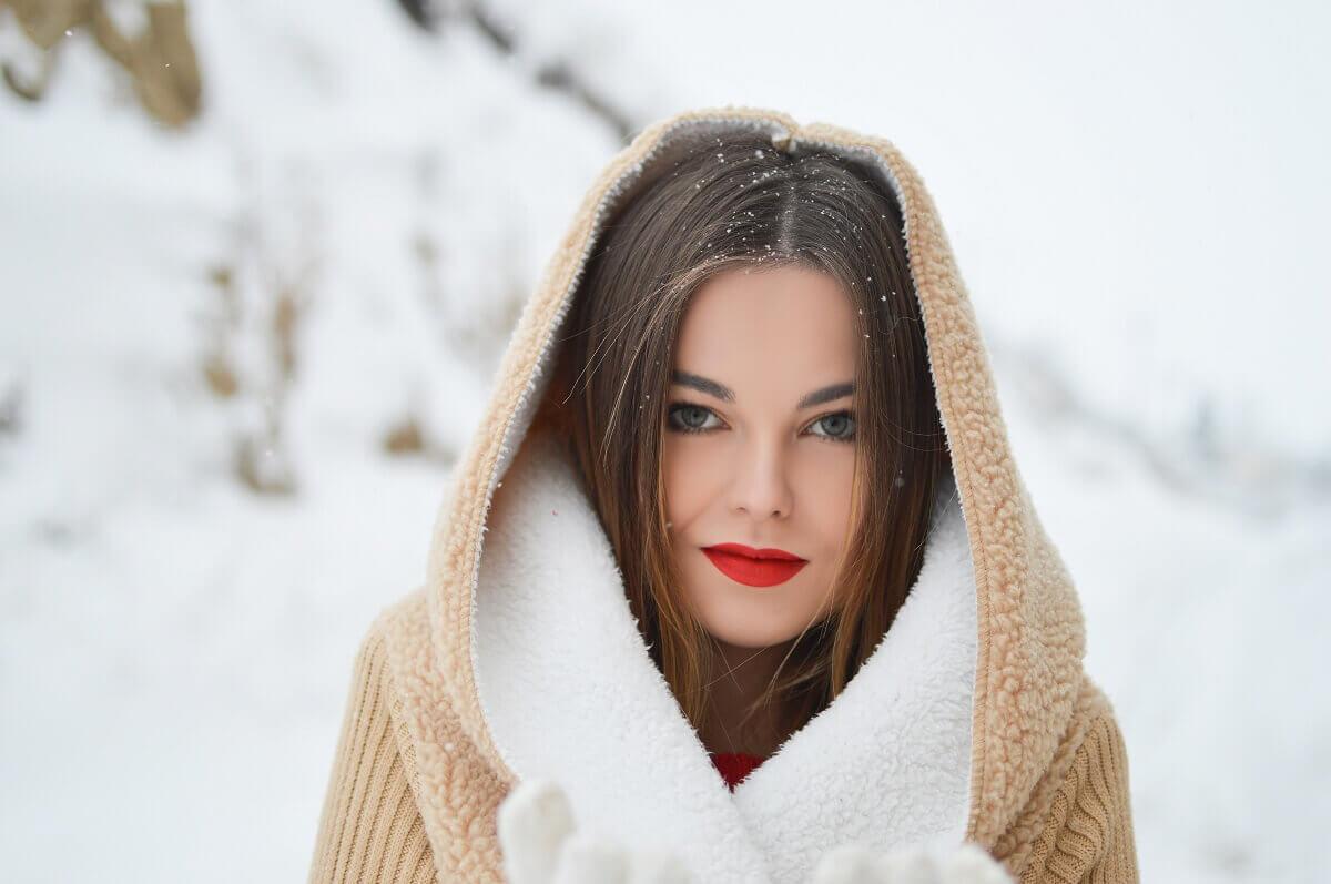 Starostlivosť o pery v zime