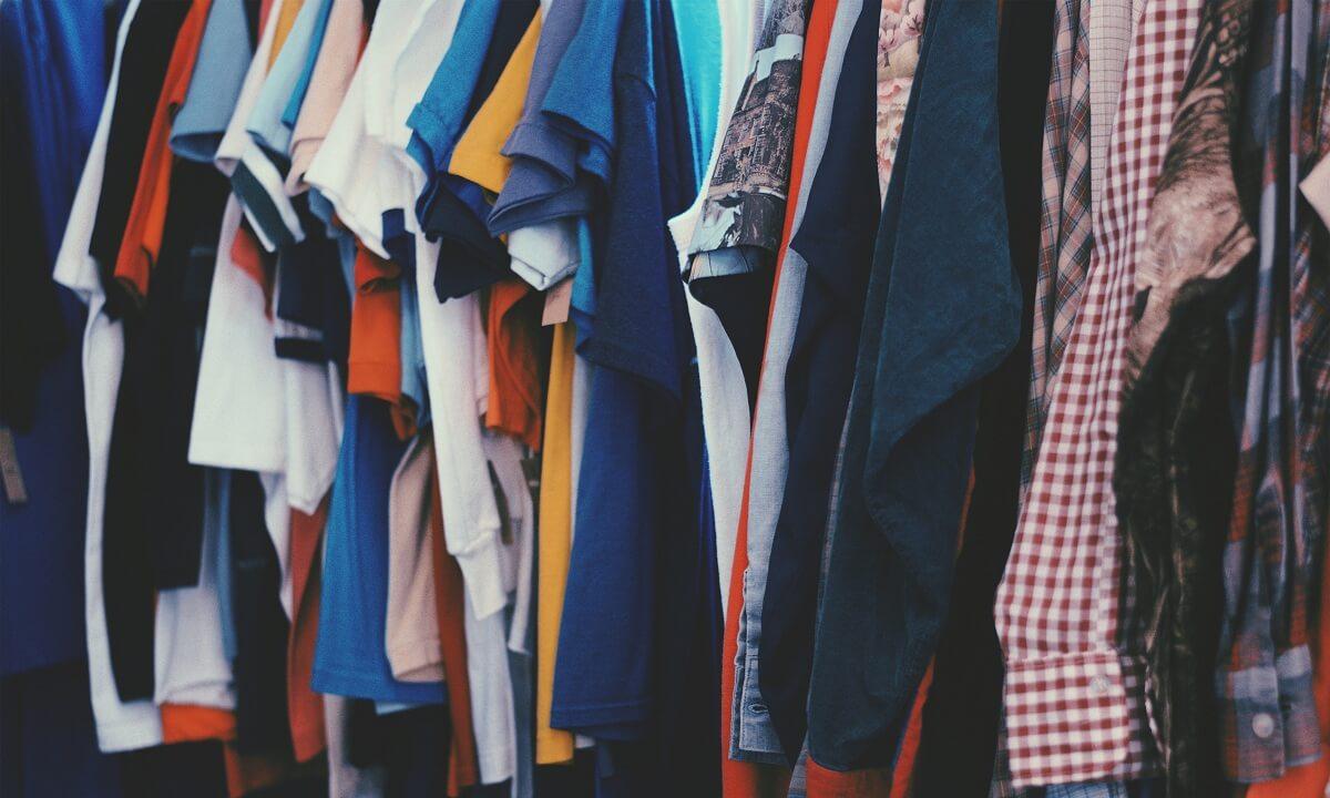 Žehlenie - triedenie oblečenia