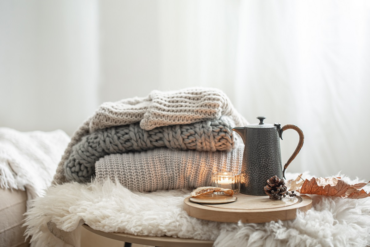 Pletené oblečenie na zimu